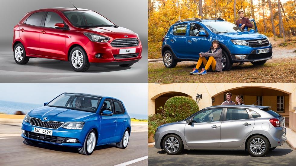 Los mejores coches utilitarios por menos de 13.000 euros