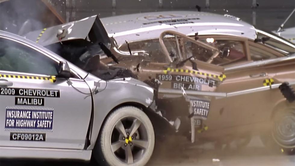 Choque entre coche antiguo y nuevo: ¿cuál es más seguro? (vídeo)