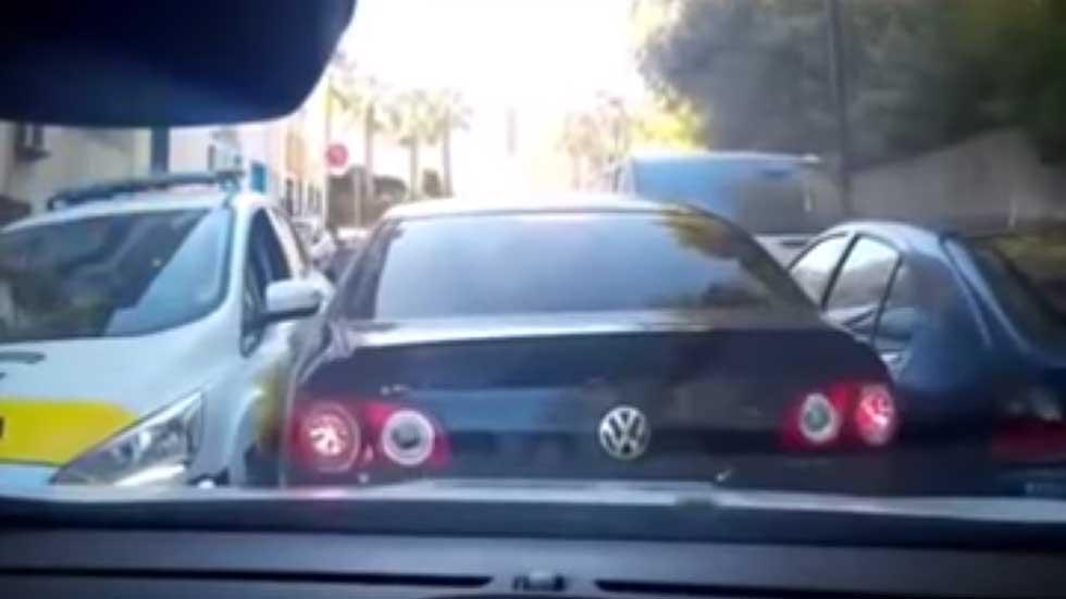 Persecución policial al estilo GTA en San Roque (vídeo)