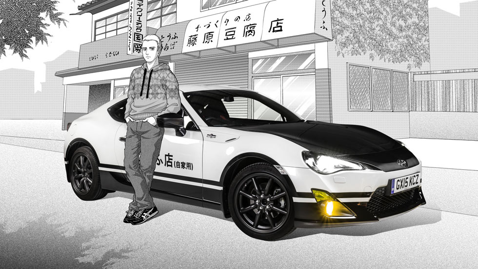 Toyota GT86 Initial D Concept, un deportivo manga