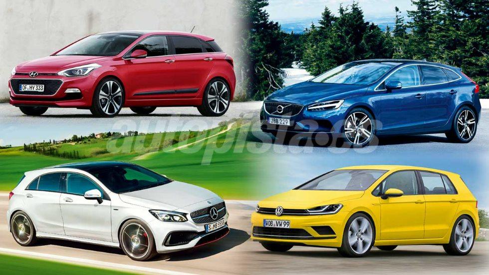 Los mejores coches compactos que llegarán hasta 2019