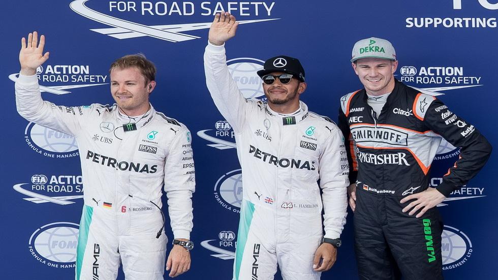 Gran Premio de Austria: Parrilla de salida