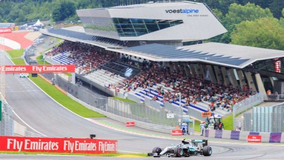 Gran Premio de Austria: Incidente entre Hamilton y Rosberg