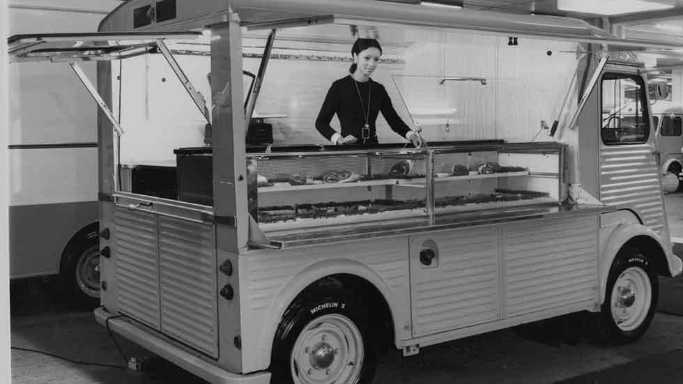 Citroën H: el origen del fenómeno de las 'food trucks'
