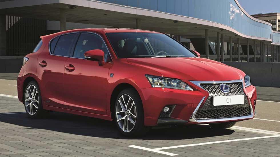 Lexus CT 200h 2017: más equipamiento a precios más bajos