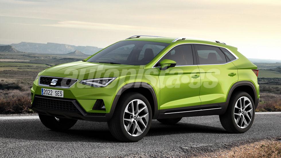Seat podría lanzar un SUV grande en 2020: ¿el súper Ateca?