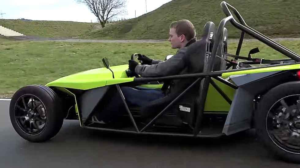 Kyburg eRod, el kart eléctrico para carretera (vídeo)