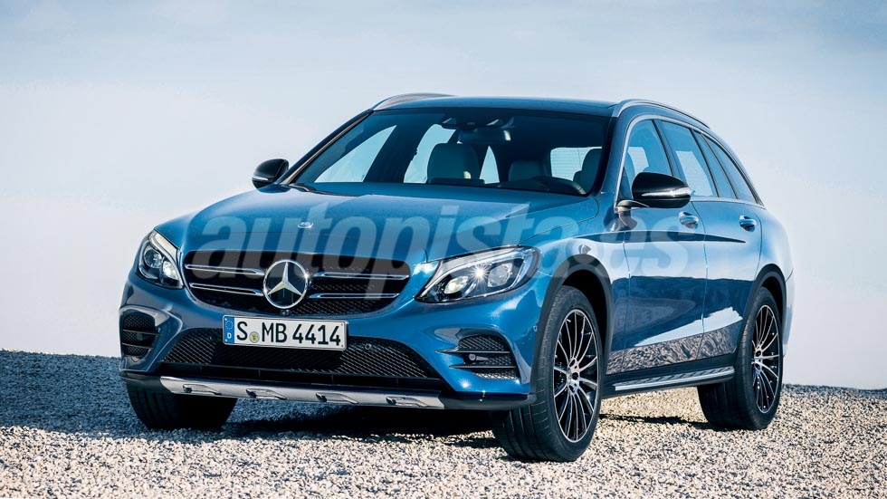 Mercedes Clase C Touring Cross: el familiar más SUV