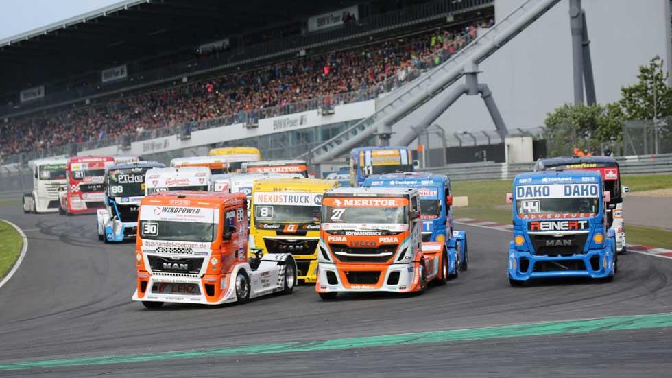 GP de Alemania del Campeonato de Europa de Camiones: sigue el duelo Lacko-Hahn