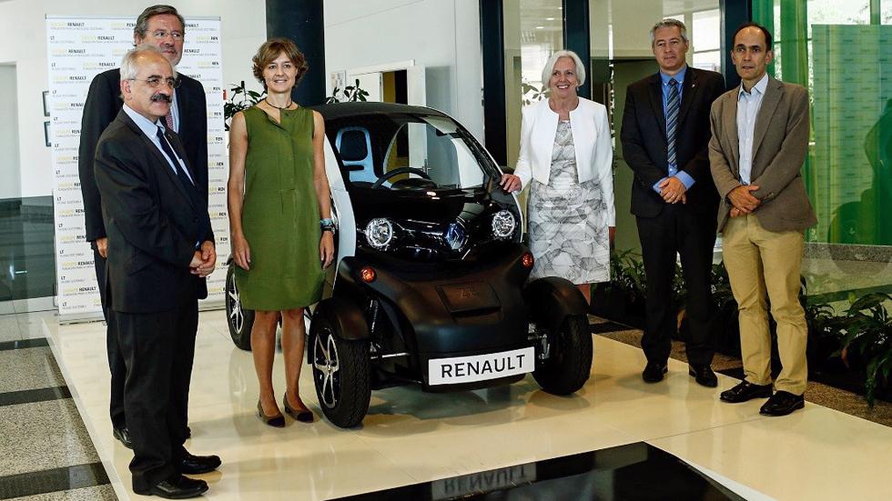 Renault entrega sus premios a la mejor práctica en movilidad sostenible