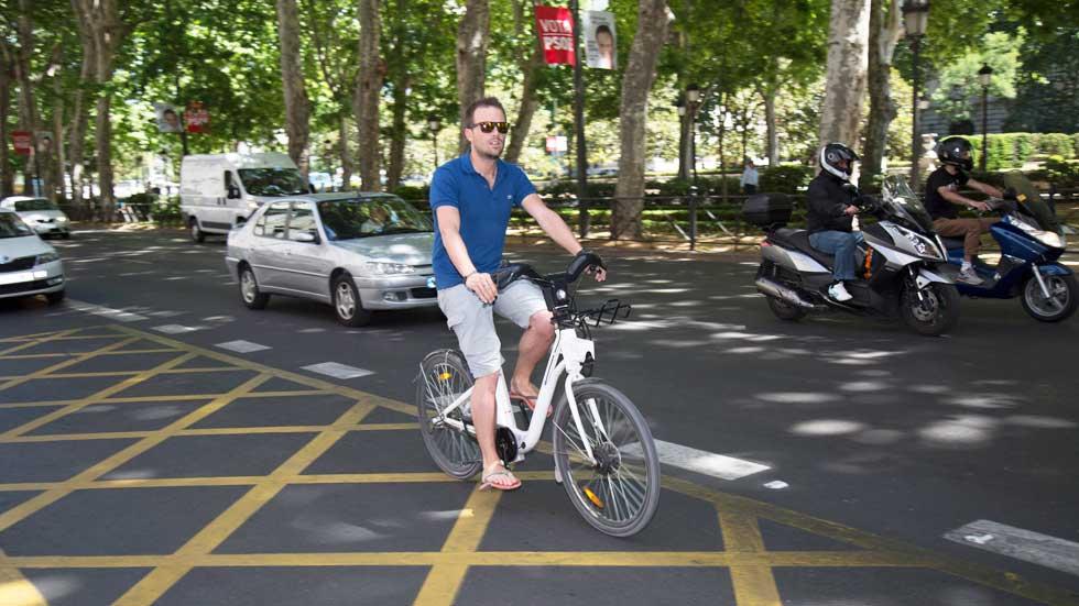 El coche autónomo también reconocerá a los ciclistas