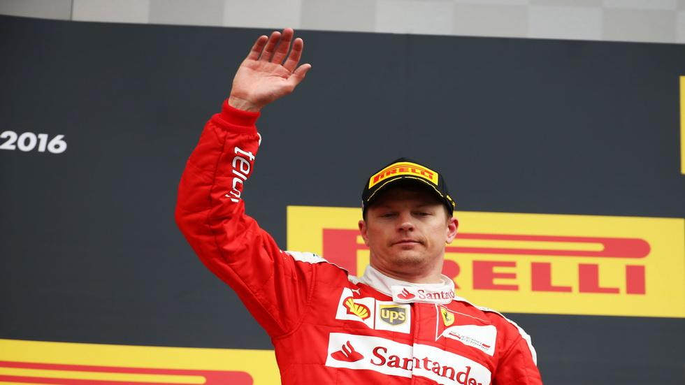 Fórmula 1: Ferrari confirma a Kimi Raikkonen para 2017