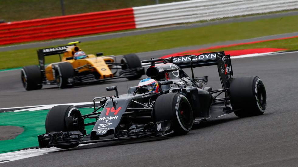 Gran Premio de Gran Bretaña: Fernando Alonso muy arriba
