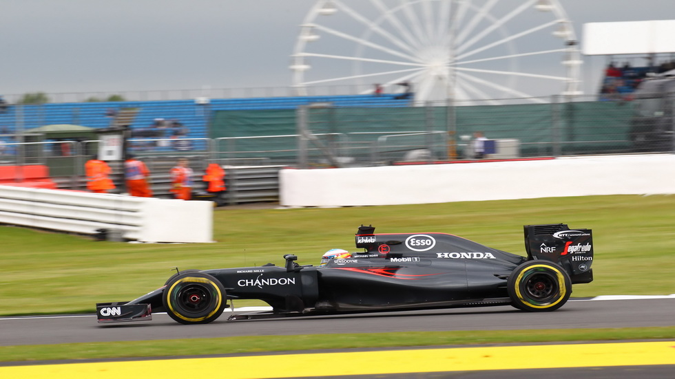 Gran Premio de Gran Bretaña: La calificación de Fernando Alonso
