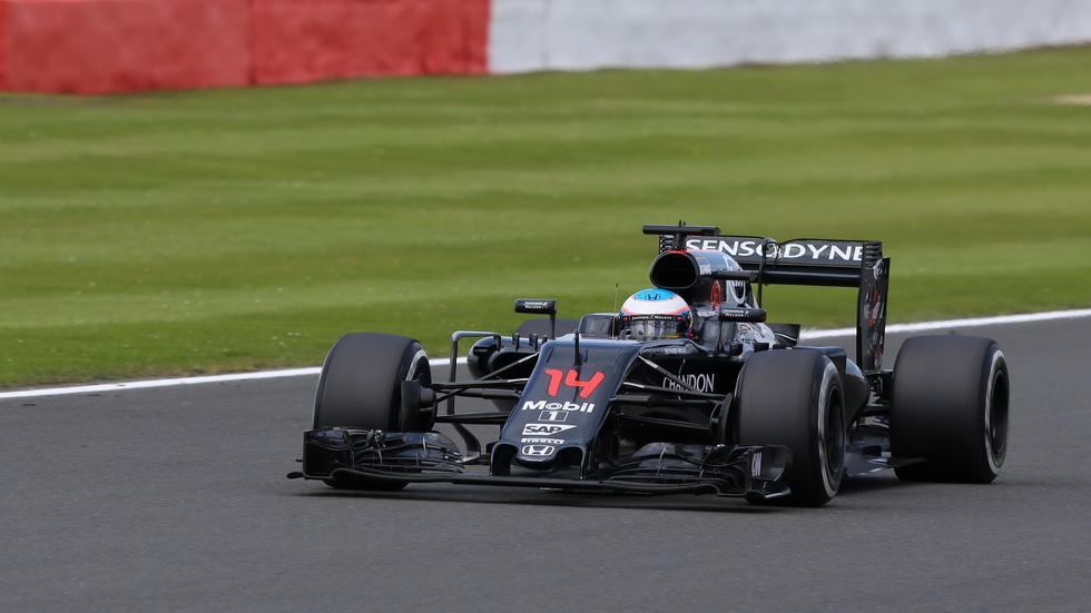 Gran Premio de Gran Bretaña: La carrera de Fernando Alonso