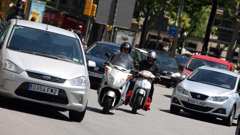 ¿Cuáles son los conductores españoles que peor circulan por ciudad?