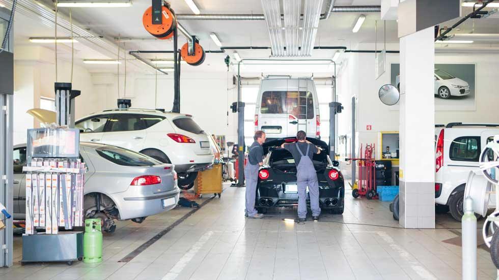 Suben un 2,1 por ciento los ingresos de los talleres de coches
