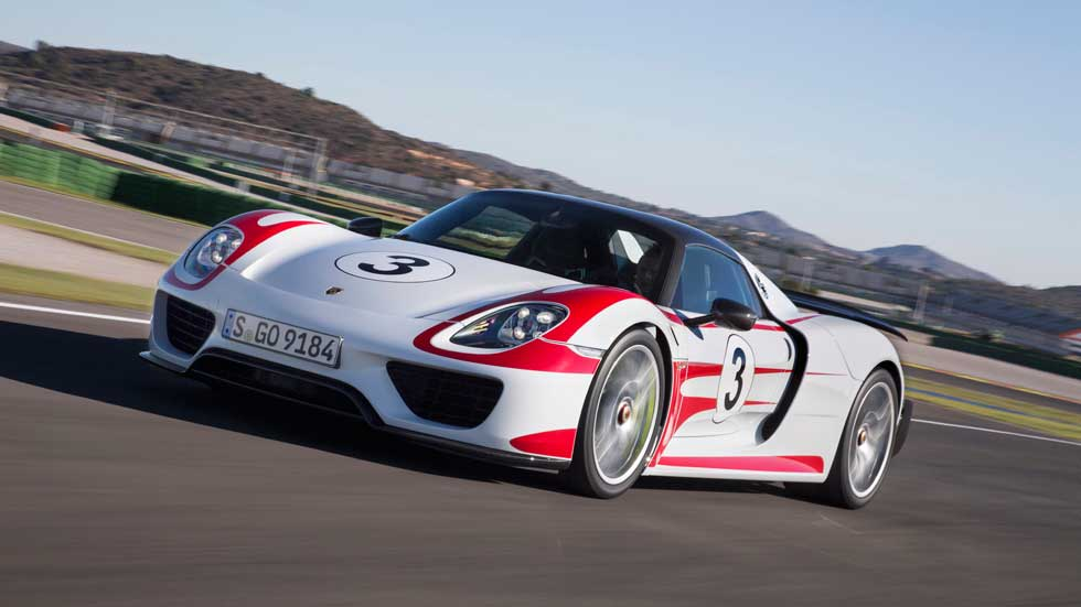 Gama de coches de Porsche, de Le Mans a la calle