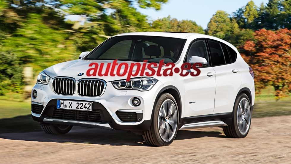 Así será el nuevo BMW X2 de 2017: atractivo SUV deportivo