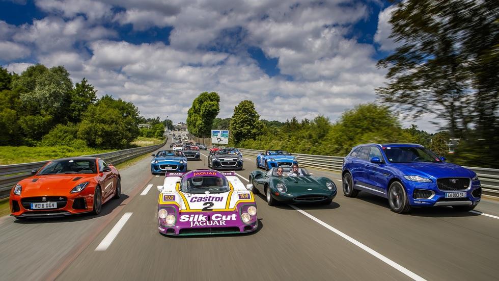 Los mejores Jaguar clásicos y modernos, juntos en Le Mans Classic