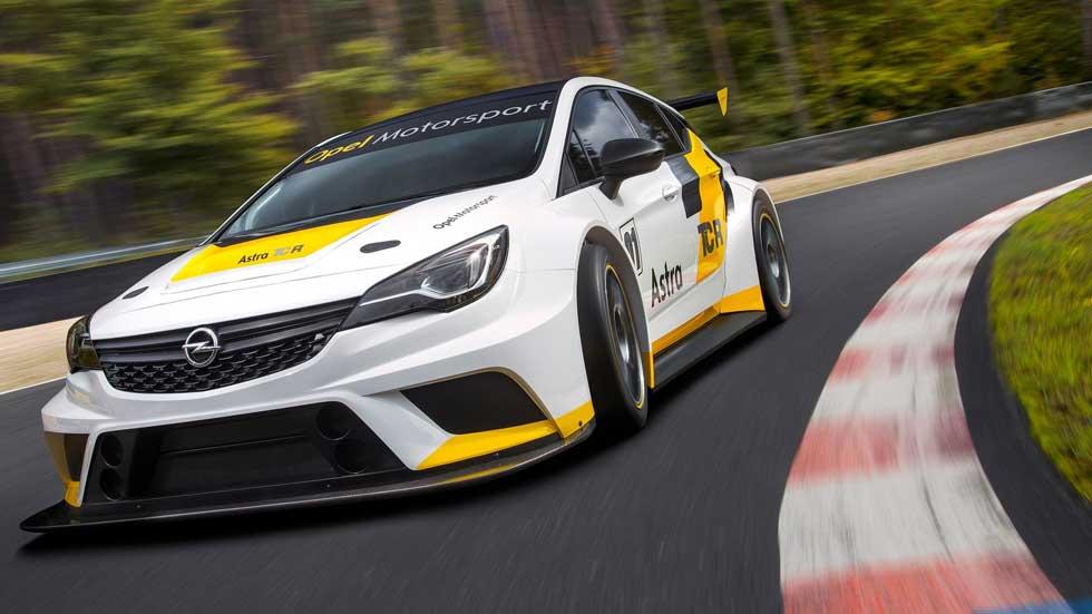 Opel Astra TCR: a prueba en Nürburgring el Astra más radical