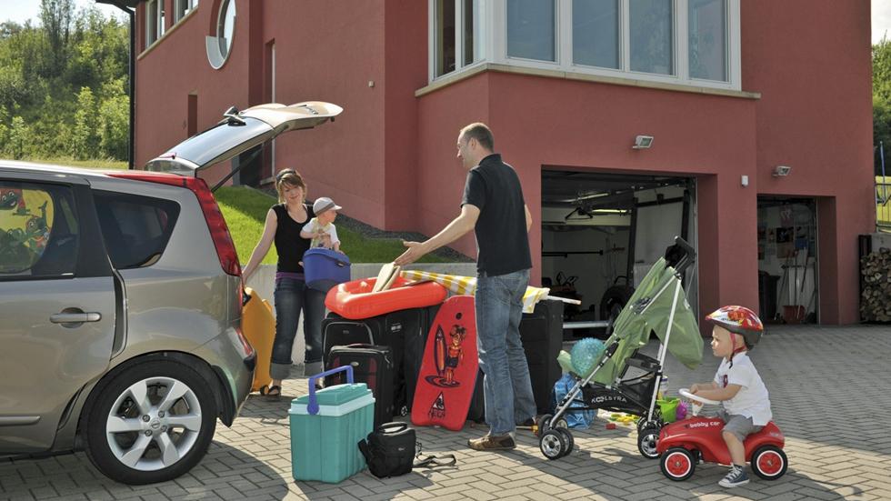 Los neumáticos y el equipaje, claves en la seguridad del coche