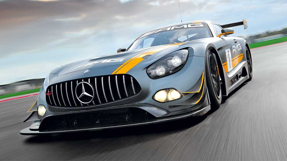 Mercedes-AMG GT GT3: exprimimos toda una estrella de carreras