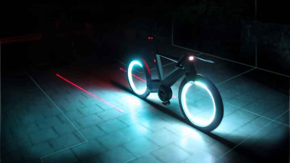 Spokeless Cyclotron, ¿serán así las bicicletas del futuro?