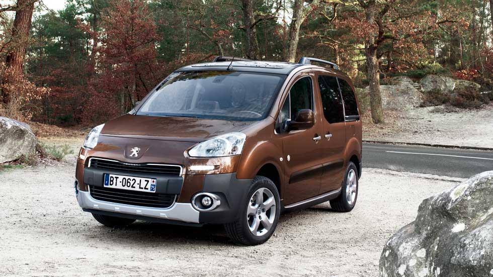 Peugeot Partner: 20 años en datos y fotos