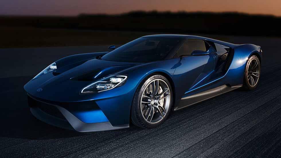 El superdeportivo Ford GT, en el túnel del viento (vídeo y fotos)
