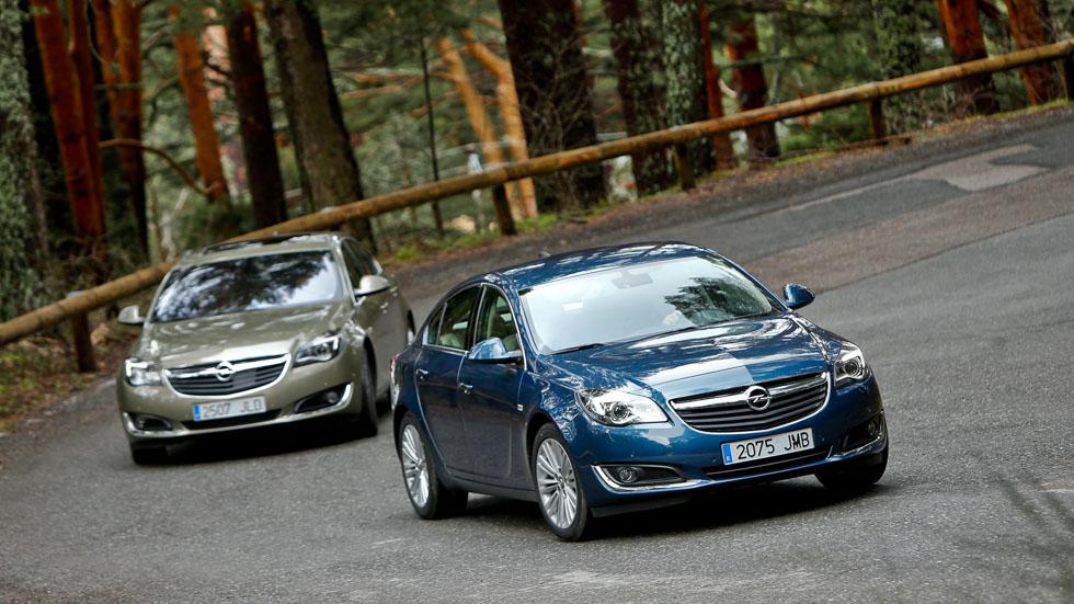 Opel Insignia 1.4 T gasolina y Opel Insignia 1.6 CDTi Diesel: ¿Qué elegir?
