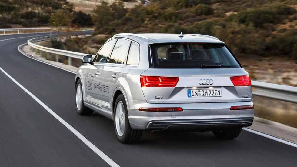 Audi Q7 e-tron 3.0 TDI quattro: consumo real y primeras impresiones