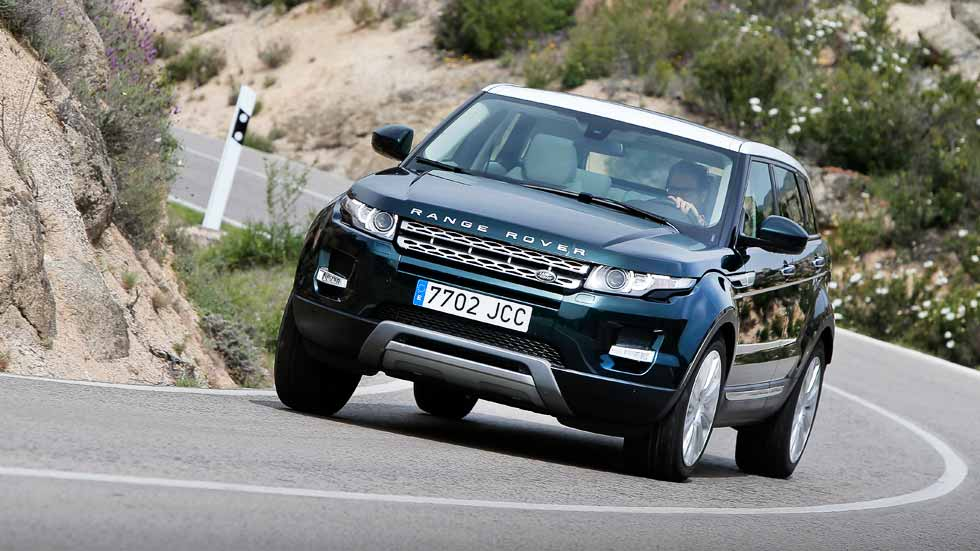 range rover evoque 2 0 td4 180 4x4 a prueba un suv con estilo. Black Bedroom Furniture Sets. Home Design Ideas
