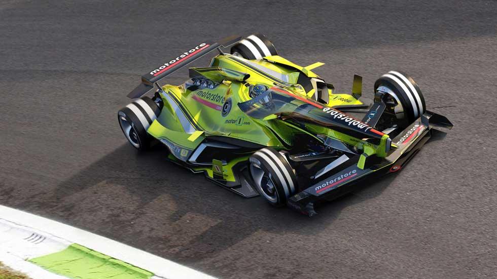 ¿Cómo serán los coches de carreras del futuro?