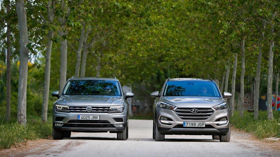 Hyundai Tucson y VW Tiguan: el aspirante y el mejor SUV, frente a frente