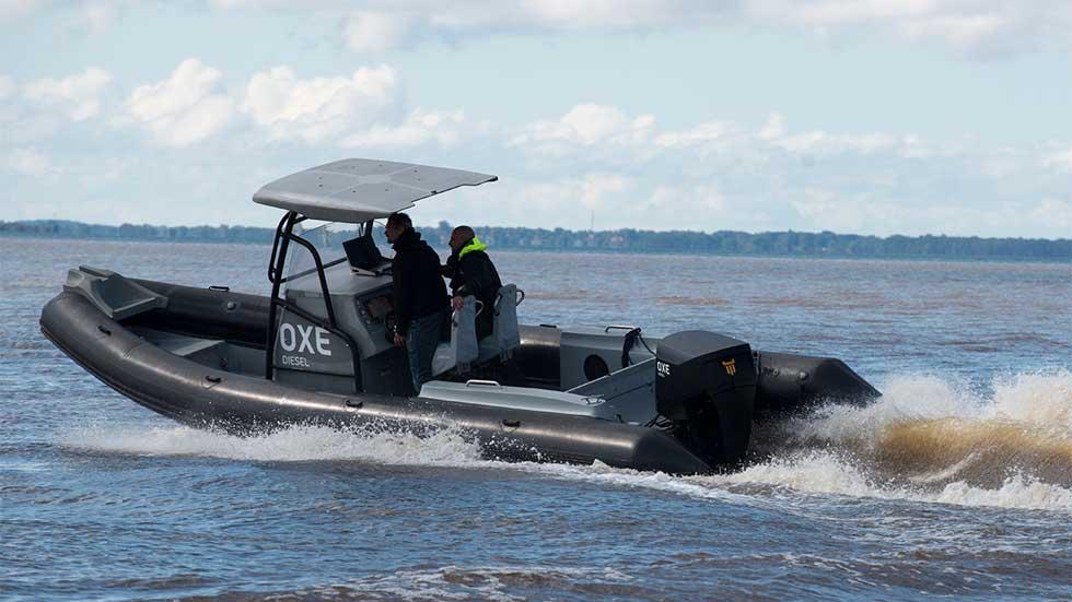 Un motor Diesel de Opel para embarcaciones fueraborda