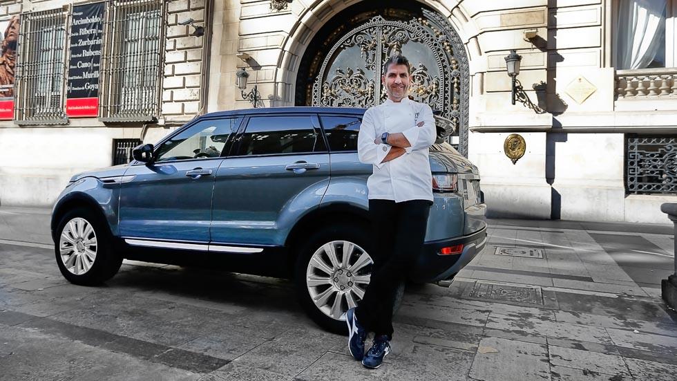 Probadores con estrella: el Chef Paco Roncero (vídeo y fotos)