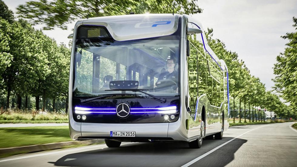Así es el autobús autónomo del futuro