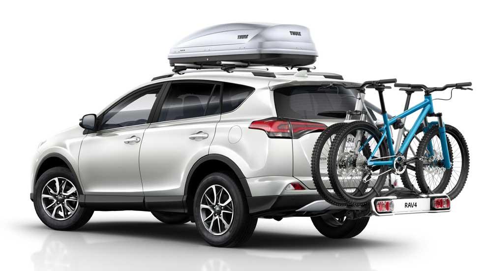 Toyota RAV4, nueva gama de accesorios para 2016
