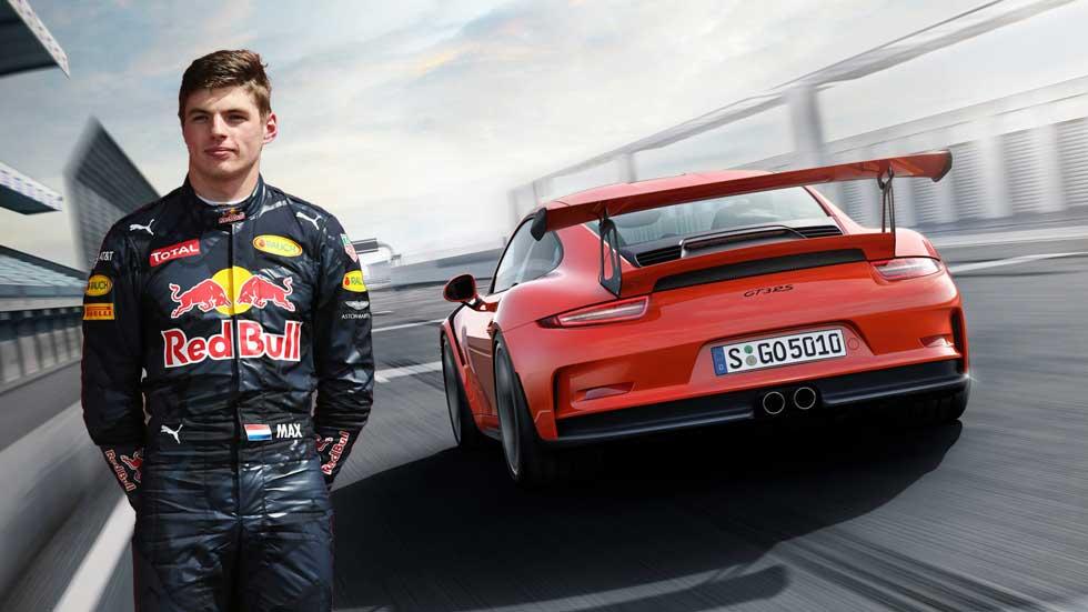 Porsche 911 GT3 RS: el coche que divierte a Max Verstappen