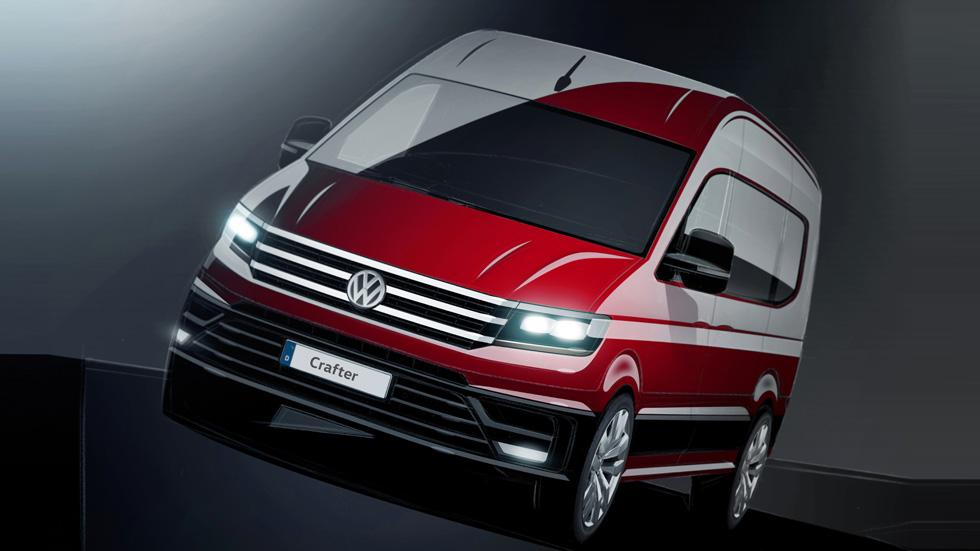 La nueva Volkswagen Crafter llegará al mercado en otoño