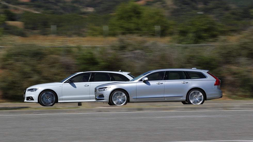 Volvo V90 vs Audi A6 Avant: ¿cuál es el mejor familiar de lujo?