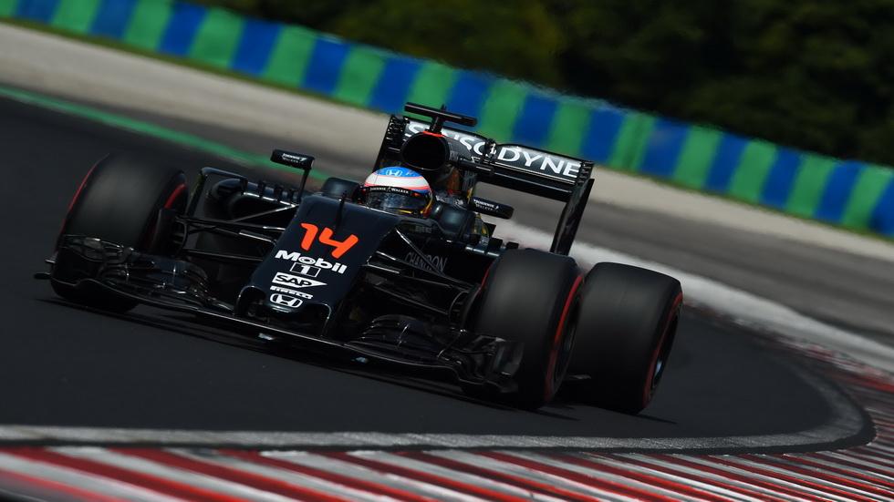 Gran Premio de Hungría: Fernando Alonso y el número 7
