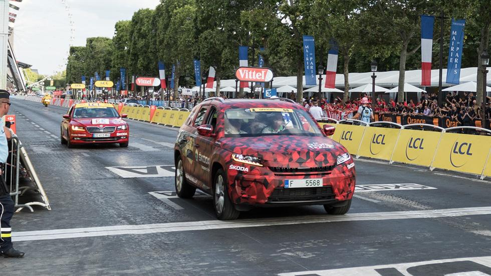 Skoda Kodiaq: estreno en el Tour de Francia 2016