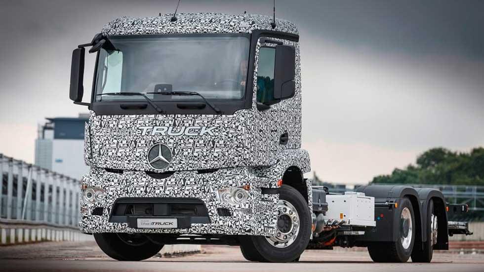 Mercedes-Benz Urban eTruck, un camión eléctrico de 26 toneladas