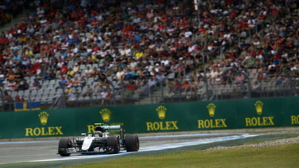 Gran Premio de Alemania: Tercera sesión libre