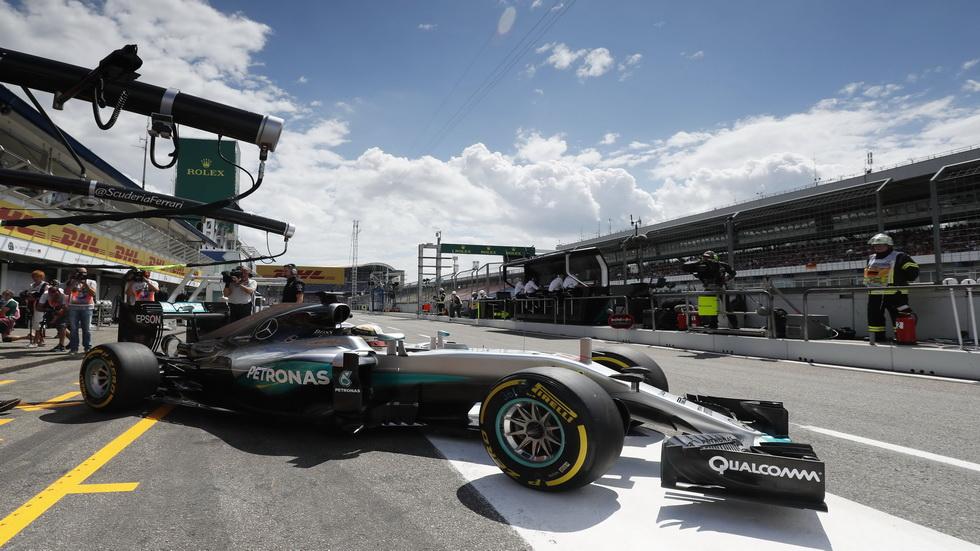 Gran Premio de Alemania: Mercedes sancionado tras la FP3