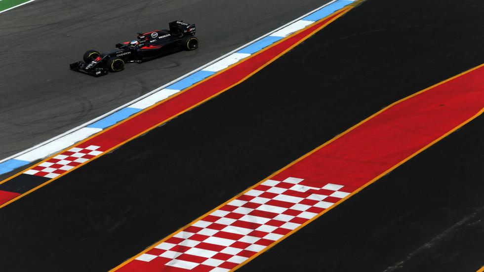 Gran Premio de Alemania: La carrera de Fernando Alonso