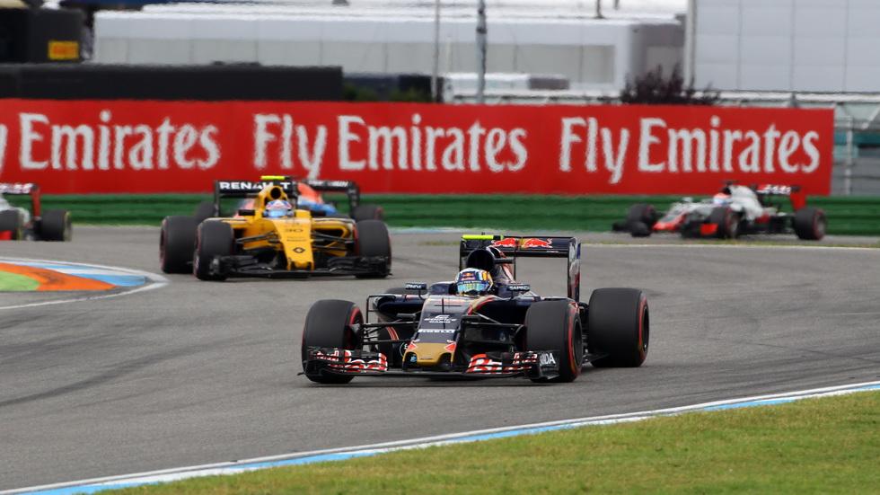 Gran Premio de Alemania: La carrera de Carlos Sainz