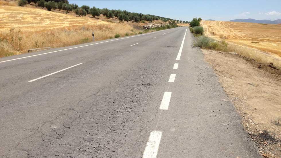 La inversión en carreteras, la misma que en los ochenta